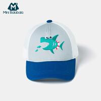 迷你巴拉巴拉儿童棒球帽2020夏季薄款宝宝透气时尚潮流鸭舌帽