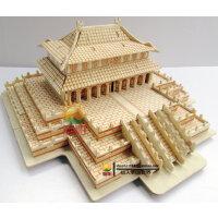 木质立体拼图玩具模型 3d puzzle益智成人拼图智力拼装建筑太和殿