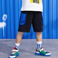 【99选3】巴拉巴拉旗下219夏季新款男童中大童潮流时尚中裤儿童休闲裤子B