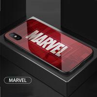 复仇者联盟小米8se手机壳漫威美国队长小米mix2s欧美潮牌蜘蛛侠max3玻璃防摔个性钢铁侠6X/8