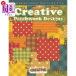 【中商海外直订】Creative Patchwork Designs - Coloring Books Quilts