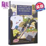 【中商原版】100本书中的经典犯罪故事 英文原版 The Story of Classic Crime in 100