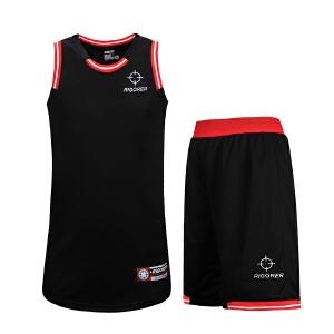 准者篮球服套装吸汗速干DIY定制印字印号男女球队球衣运动服背心短裤