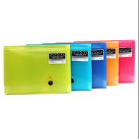 无手提事务包 F8819风琴包 收纳包 13层霓影色 文件袋 横款 颜色随机