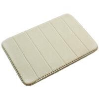 加厚记忆棉慢回弹卫生间地毯防滑垫厨房浴室吸水垫子