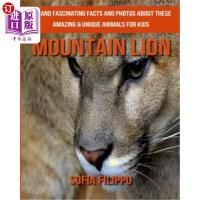 【中商海外直订】Mountain Lion: Fun and Fascinating Facts and Photos