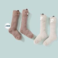 迷你巴拉巴拉儿童纯棉中筒袜2020夏季宝宝可爱透气薄款防滑袜子