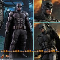 兵人 HotToys HT 1/6 正义联盟 盔甲战术中甲蝙蝠侠 普通版 全新定制 全新未拆现货-中通