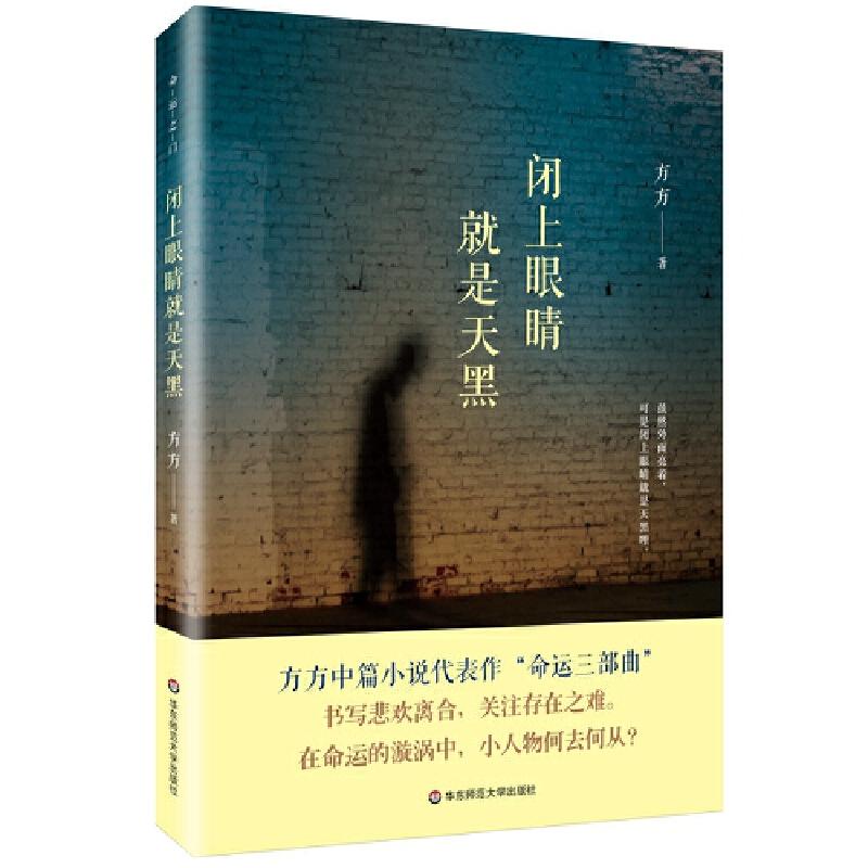 """闭上眼睛就是天黑 (方方中篇小说代表作""""命运三部曲""""。书写悲欢离合,关注存在之难。在命运的漩涡中,小人物何去何从?)"""