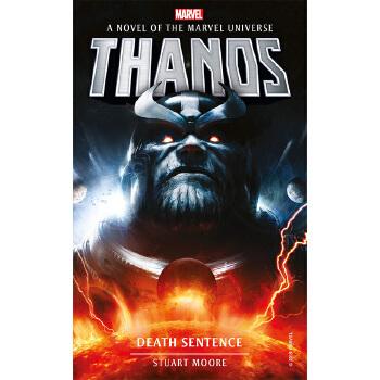 【中商原版】漫威小说:灭霸:死亡审批 英文原版 Marvel novels - Thanos: Death Sentence 海外发货,付款后预计2-4周到货