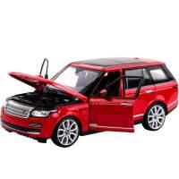 儿童仿真汽车车模型儿童路虎揽胜合金车模1:24模型玩具车