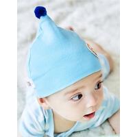 婴儿帽子秋冬季男女宝宝帽子0-3-6-12个月帽子胎帽春秋