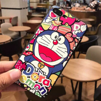 iphone7手机壳 6S苹果8plus保护套X全包边硅胶5S卡通防摔超薄挂绳