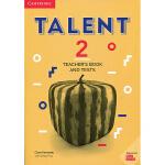 【中商原版】剑桥英语交际才能教程(教师书和测验第二级)英文原版 Talent Level 2 Teachers Boo