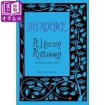 【中商原版】颓废文学作品选 英文原版 Decadence: A Literary Anthology