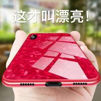 新款苹果X手机壳iPhone11硅胶XR新款女潮11pro玻璃壳xsmax防摔10/11仙女贝壳网红11promax全包