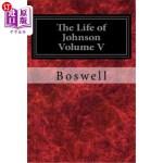 【中商海外直订】The Life of Johnson Volume V