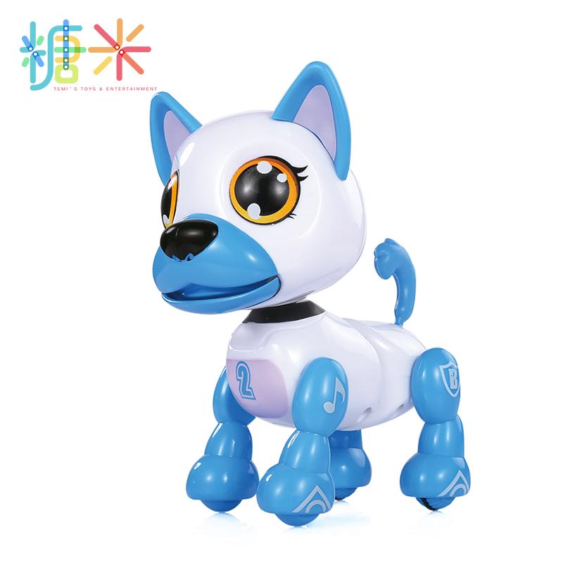 儿童电动智能玩具汪汪队智能宠物狗会叫唱歌跳舞说话机器小狗走路礼物