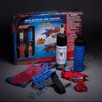儿童生日礼物礼品蜘蛛侠喷丝喷水手套套装动漫钢铁侠玩具 蜘蛛侠喷丝套装
