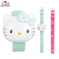 HELLO KITTY 凯蒂猫儿童电子手表跳字表儿童学生时尚童趣卡通手表HKSQ98070