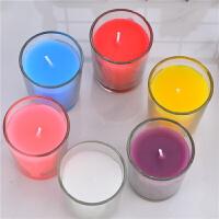 香氛蜡烛浪漫精油无烟去味生日礼物表白求婚香薰蜡烛玻璃杯香氛室内助眠 六色六味混装玻璃杯蜡烛 6只装