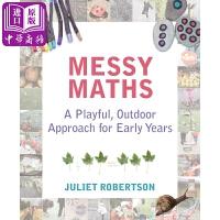 【中商原版】边学边玩数学:早年幼儿户外数学知识学习 英文原版 Messy Maths: A playful, outd