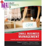 【中商海外直订】Wiley Pathways Small Business Mgmt, 1e