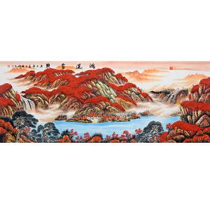 中国美协会员,中国书协会员,龙云书画院院长侯桂峰(鸿运当头)11