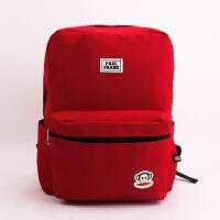 Paul Frank大嘴猴 PL0902简约主义-休闲书包红色 随机单个销售 当当自营