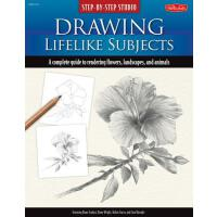 【预订】Step-by-Step Studio Drawing Lifelike Subjects