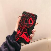 蜘蛛�b�O果8手�C��6S�炖KSE/5S硅�ziPhone7plus耐摔�O果X 6SP/6P �t (蜘蛛�b)