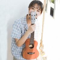 23寸单板尤克里里初学者女男乌克丽丽小吉他