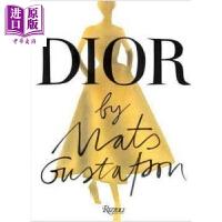 【中商原版】时尚插画师马兹・古斯塔夫森笔下的迪奥 英文原版 Dior by Mats Gustafson