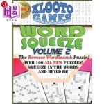 【中商海外直订】KLOOTO Games WORD SQUEEZE: Vol. 2: The Reverse Word