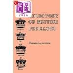 【中商海外直订】A Directory of British Peerages