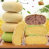 【包邮】绿豆饼1000g 整箱早餐面包网红零食品蛋糕点心特产小吃成人款多口味美食_绿豆味22个(约1000g)