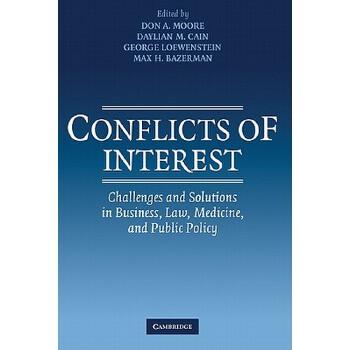 【预订】Conflicts of Interest: Challenges and Solutions in Business, Law, Medicine, and Public Policy 预订商品,需要1-3个月发货,非质量问题不接受退换货。