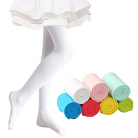 女童连裤袜春秋薄款儿童打底裤夏季白色丝袜跳舞练功连体舞蹈袜子