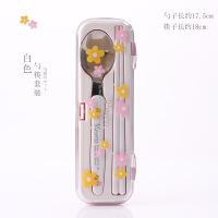 筷子勺叉套装节日礼品卡通树脂环保便携学生儿童旅行餐具