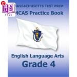 【中商海外直订】Massachusetts Test Prep McAs Practice Book English