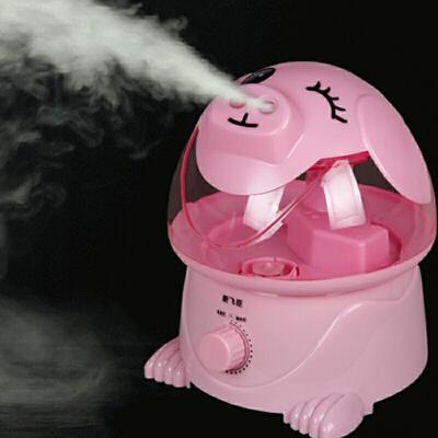 卡通加湿器静音家用办公室卧室大容量婴孕空气净化小型迷你香薰机空气加湿器