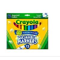 绘儿乐/Crayola 儿童 12色 可水洗 粗头 水彩笔