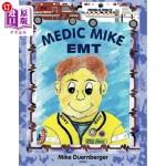 【中商海外直订】Medic Mike, EMT