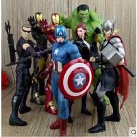 复仇者联盟2雷神绿巨人 黑寡妇 美国队长 钢铁侠手办模型摆件