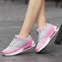 货到付款 2017新款韩版女士运动鞋小白鞋气垫女鞋时尚跑步鞋户外休闲登山鞋学生旅游运动鞋
