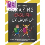 【中商海外直订】5th Grade Amazing English Exercises: Reading, Speak