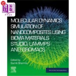 【中商海外直订】Molecular Dynamics Simulation of Nanocomposites Usi