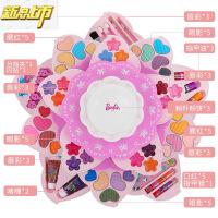 【六一儿童节特惠】 新品儿童化妆品公主彩妆盒套装口红小女童女孩玩具生日礼物