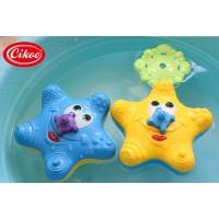 超好玩 宝宝洗澡玩具 儿童戏水玩具 喷水海星