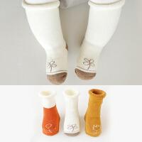 婴儿袜子秋冬松口儿童袜子保暖毛圈宝宝袜子1-3岁